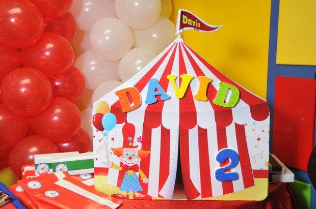 Candies Circus Party Decorations